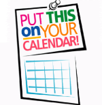 Put on your calendar logo